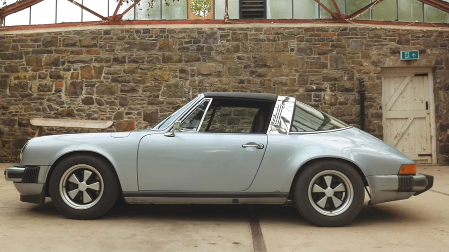 Tesla Roadster Battery Gets Second Life In Electric Porsche 911