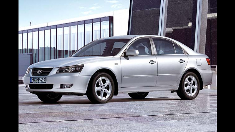 Hyundai Sonata: Ab sofort auch mit Dieselmotor zu haben