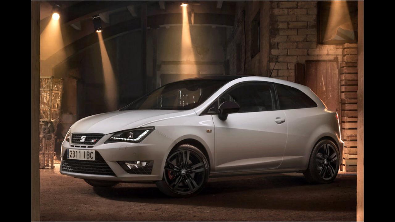Seat Ibiza SC 1.8 TSI Cupra: 6,7 Sekunden