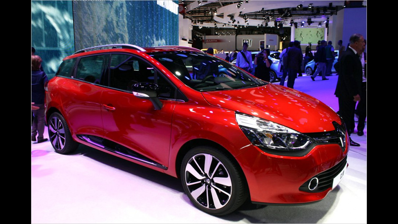 Renault: Clio-Trio in Paris
