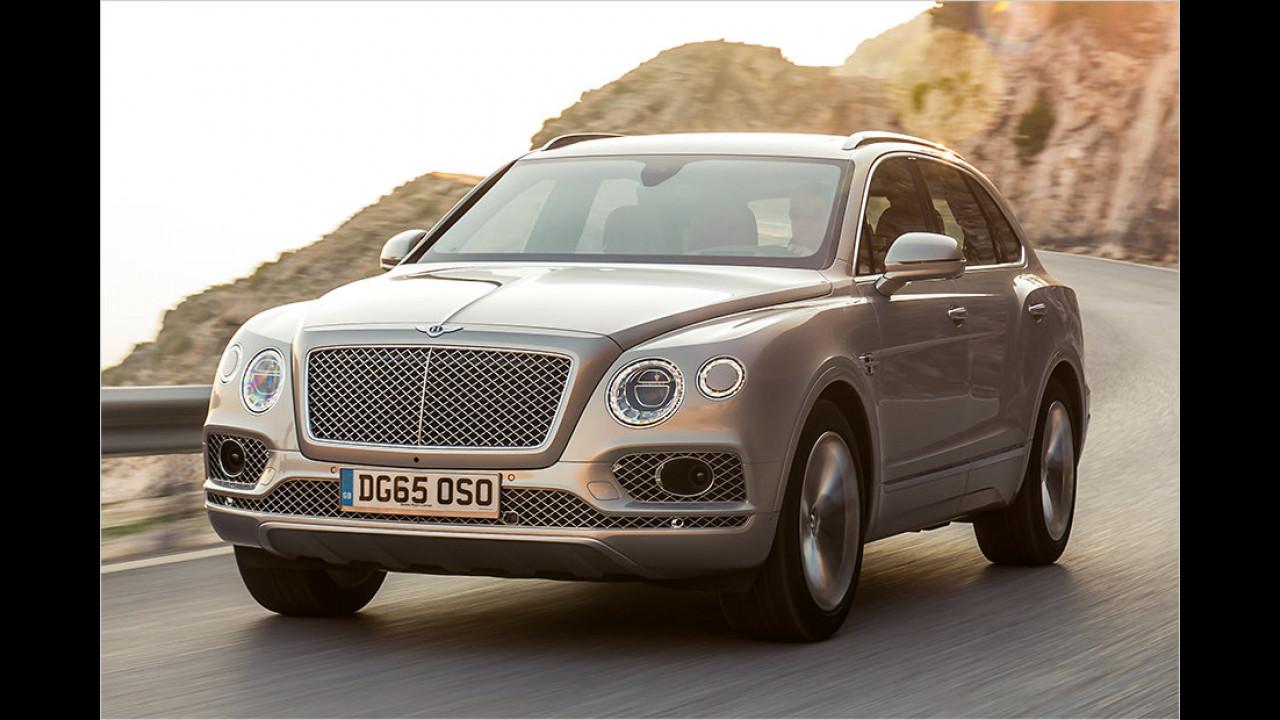 Bentley Bentayga: 4,1 Sekunden