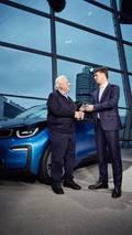 100,000th electrified car - BMW