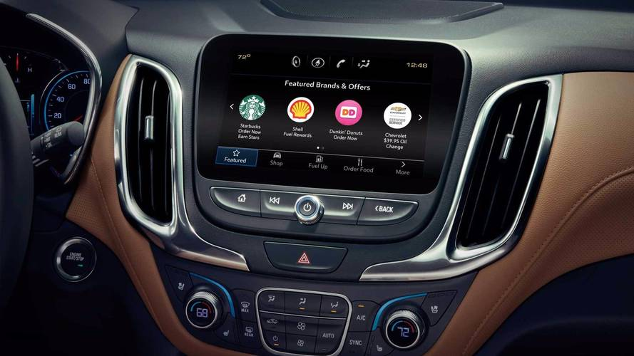 GM's Marketplace feature lets you buy stuff with your vehicle