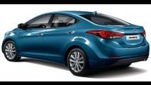 Hyundai Elantra 2014: versão reestilizada é revelada na Coreia do Sul
