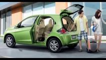 Honda Brio 2012 começa a ser oficialmente vendido na Índia pelo equivalente a R$ 14.700
