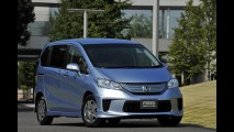 Honda Freed ganha versão híbrida no Japão - Consumo médio é de 25 km/litro