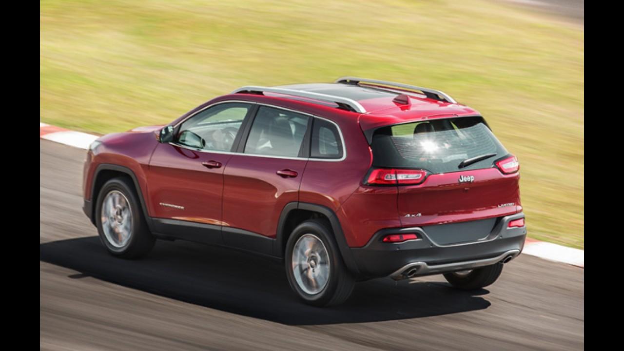 Jeep anuncia recall global para mais de 55 mil Cherokee; Brasil aguarda