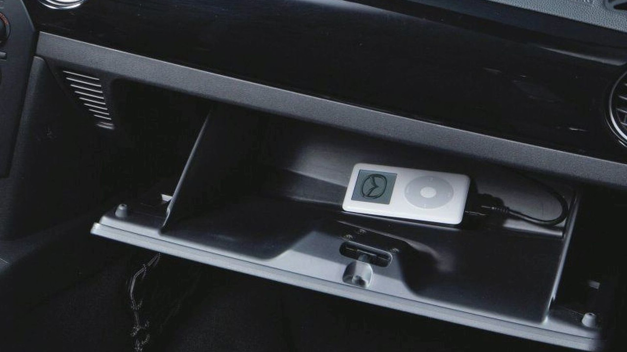 Mazda iPod® Compatible vehicle
