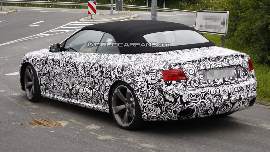 2013 Audi RS5 Cabrio spied in Europe