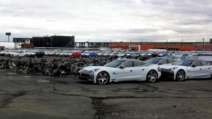 16 Fisker Karmas catch fire in New Jersey - report