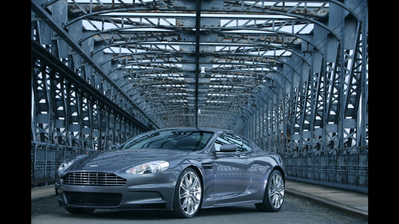 L'Aston Martin DBS di James Bond