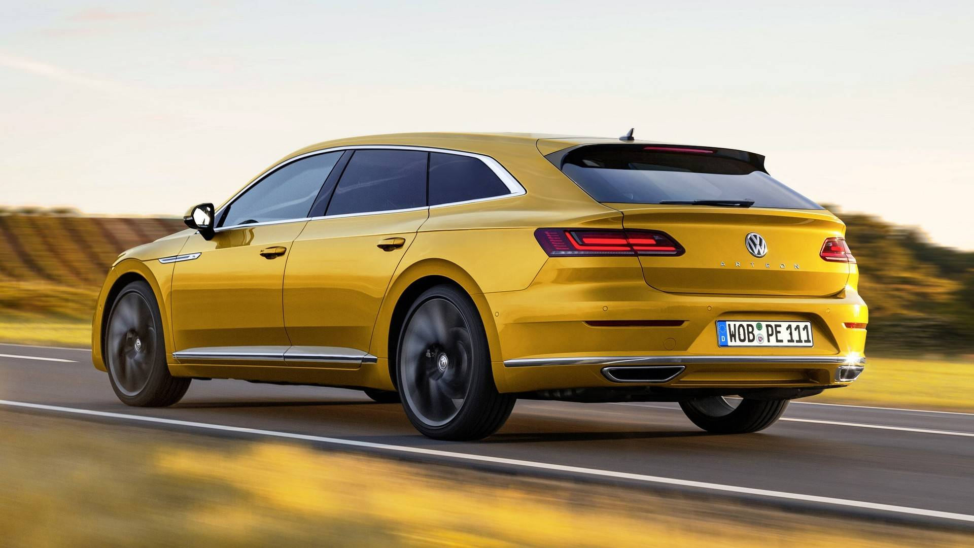 100 Volkswagen Arteon Rear Bbc Topgear Magazine