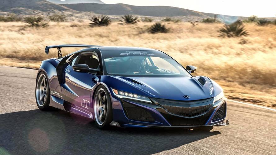 ScienceofSpeed Brings Dream Project Acura NSX To SEMA