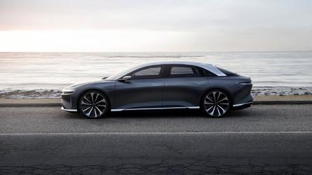 A 7-es BMW-t nézte ki magának a Lucid Air