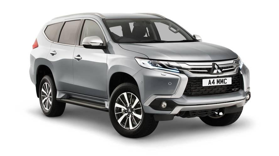 2018 Mitsubishi Shogun Sport on sale in the UK in spring 2018