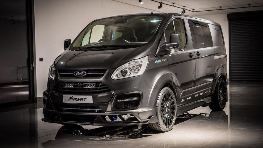 Ford Transit'e çanak koltuklu WRC versiyonu