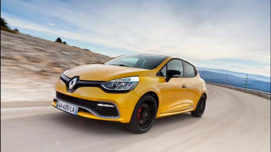 Nuova Renault Clio RS: 200 CV, due frizioni e un