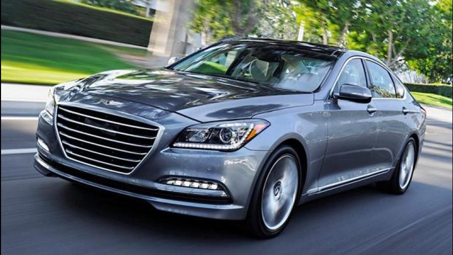 Hyundai Genesis, questo sì che è comfort