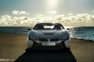 Wheels Wallpaper: 2011 BMW i8 Concept