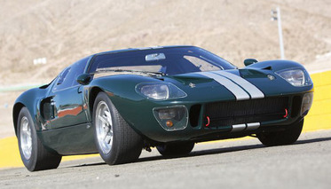 The 1965 GT40: Loud, Fast, and on the Auction Block!