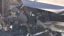 Purported Tesla Model X crash