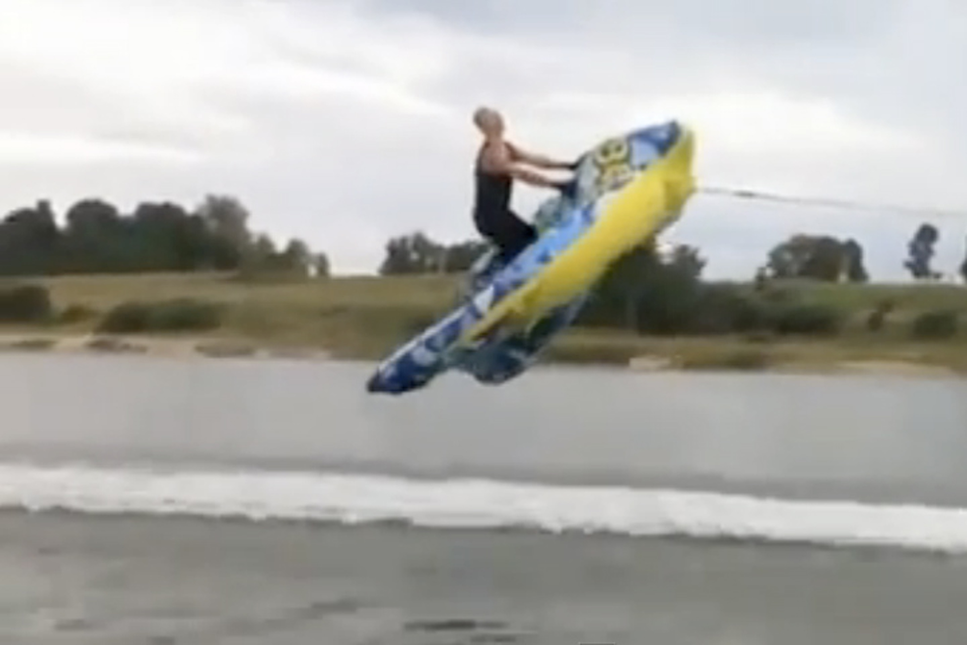 When Inflatable Rafts Take Flight [Video]