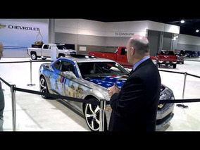 2011 Military Tribute Camaro at Atlanta Auto Show