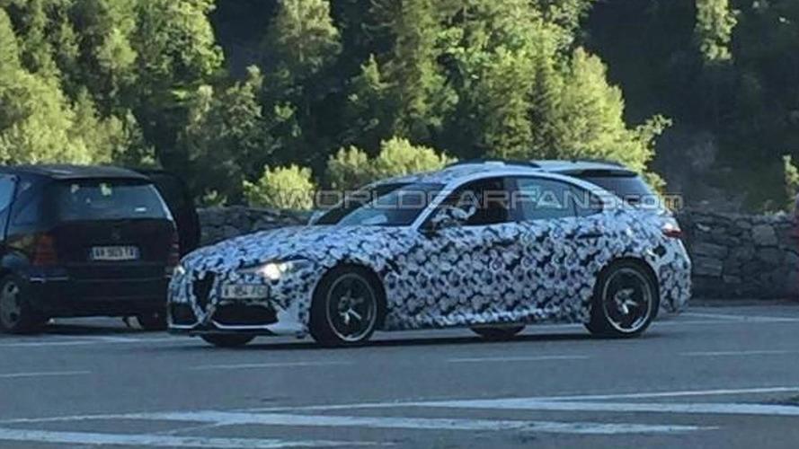 WCF reader's spy shot shows Alfa Romeo isn't done testing Giulia Quadrifoglio