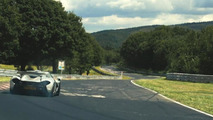 McLaren P1 at Nurburgring