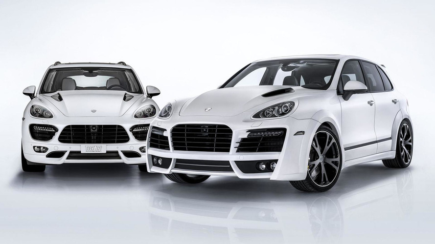 TechArt tunes the Porsche Cayenne S Diesel to 460 HP