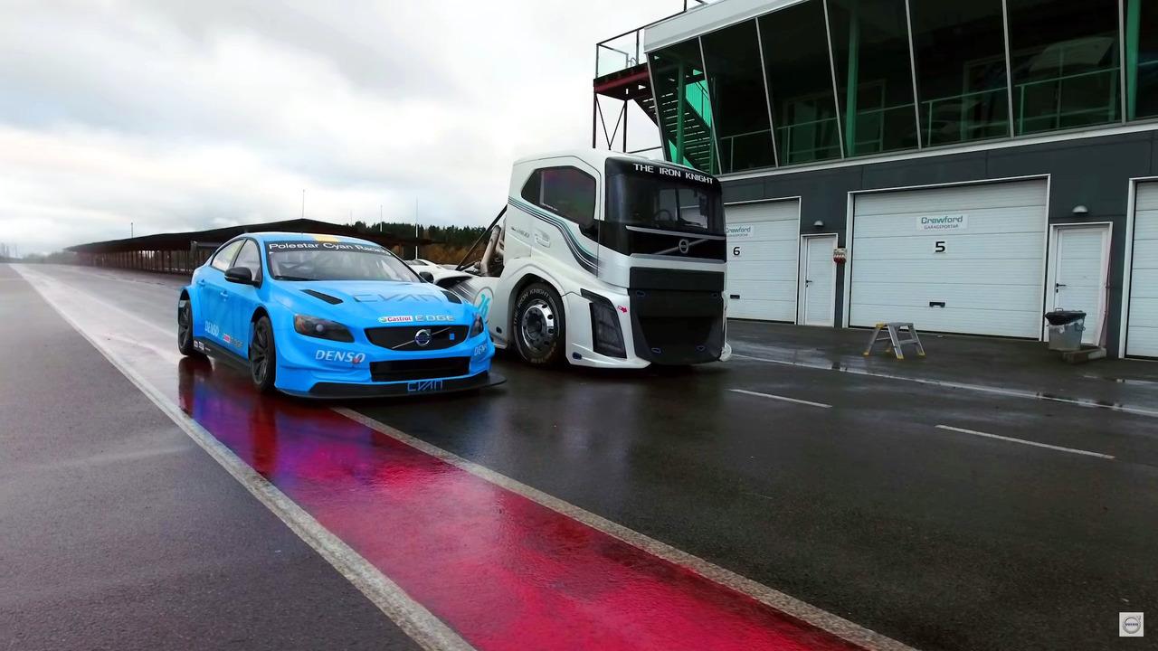 Volvo S60 Polestar vs. The Iron Knight