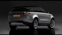 Range Rover Coupé: projeção antecipa visual do inédito rival do BMW X6