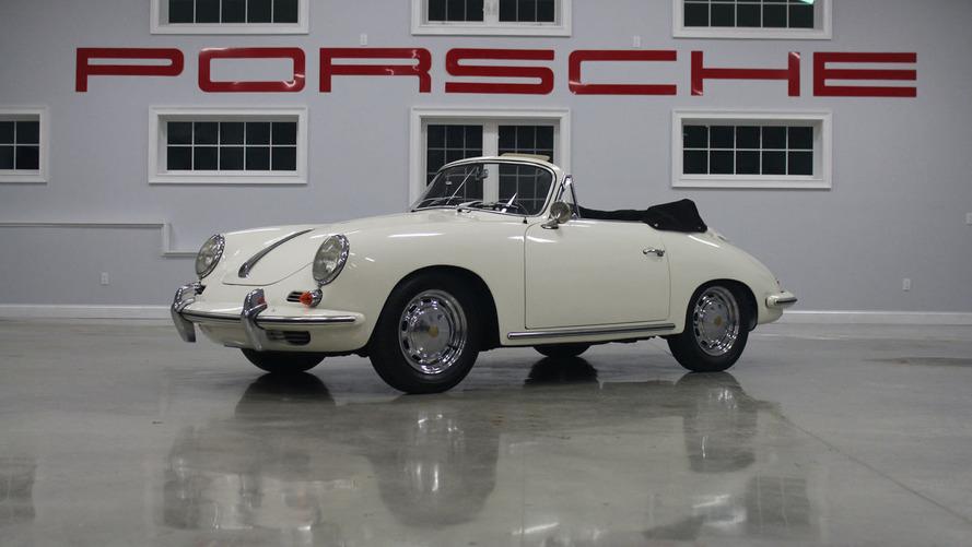 26 adet nadir Porsche açık arttırmaya çıkarılacak