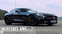 Audi R8 Mercedes-AMG GT S yarışı