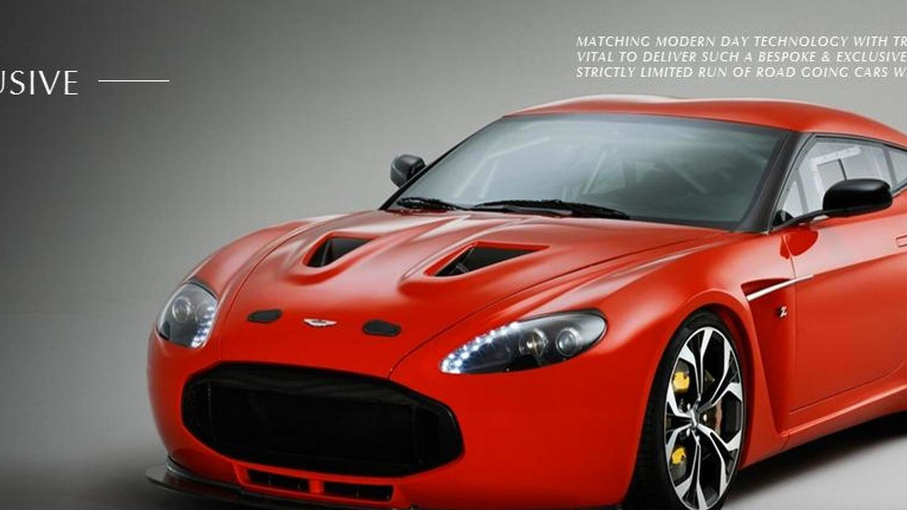 Aston Martin Z12 Zagato website image - 1.7.2011