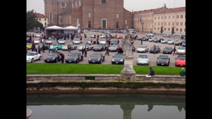 Si è conclusa a Padova la festa della Porsche 911