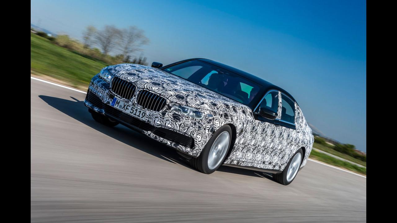 Nuova BMW Serie 7, le foto dei muletti