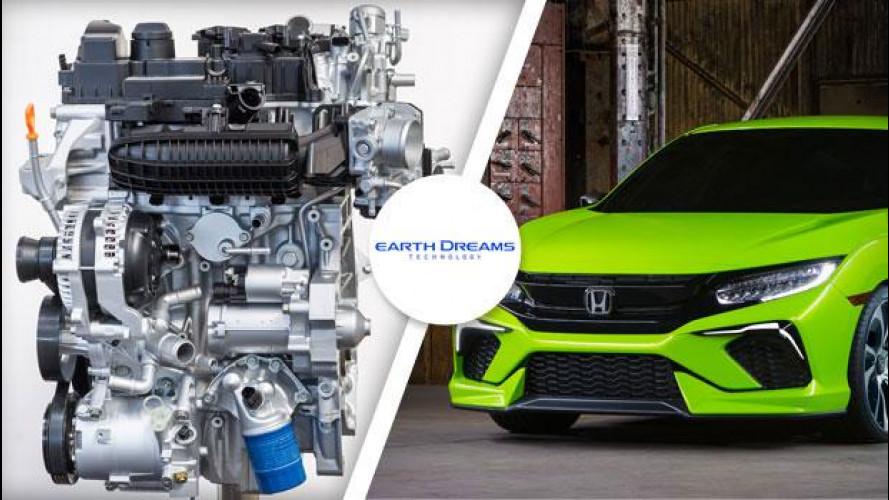 Honda Civic, la prossima avrà motori VTEC Turbo 1.0 e 1.5