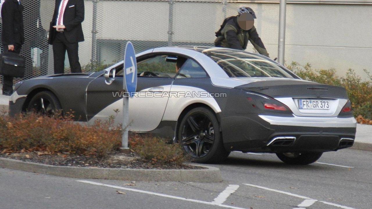2013 Mercedes Benz SL63 AMG spied - 10.11.2011