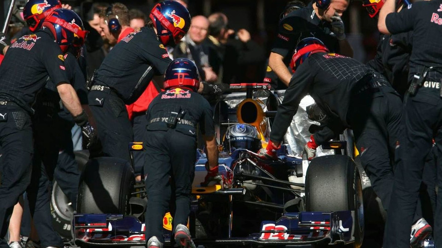 Red Bull eyes sub-two second pitstops in 2010