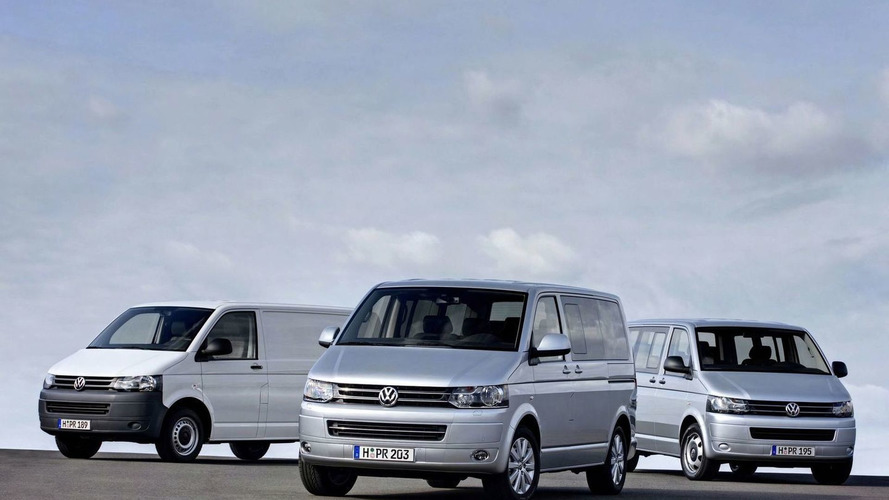 New 2010 Volkswagen T5 Van facelift revealed