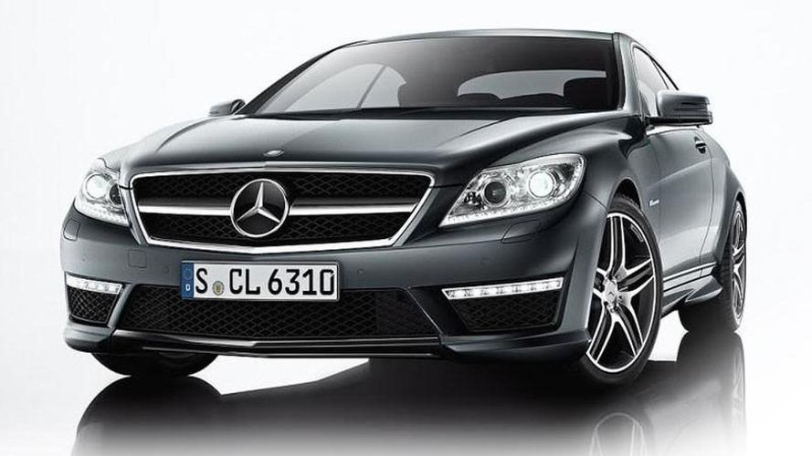Mercedes CL65/ CL63 AMG images leaked