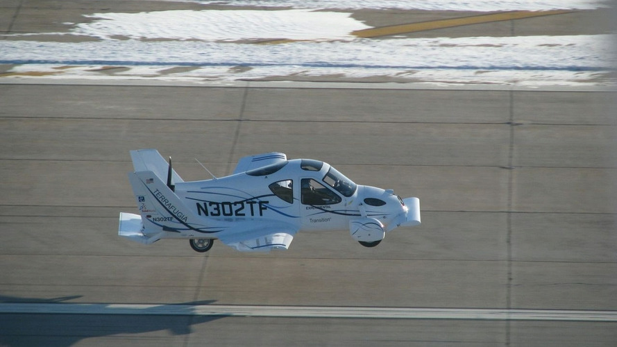 Terrafugia 'Flying Car' Makes Historic First Flight