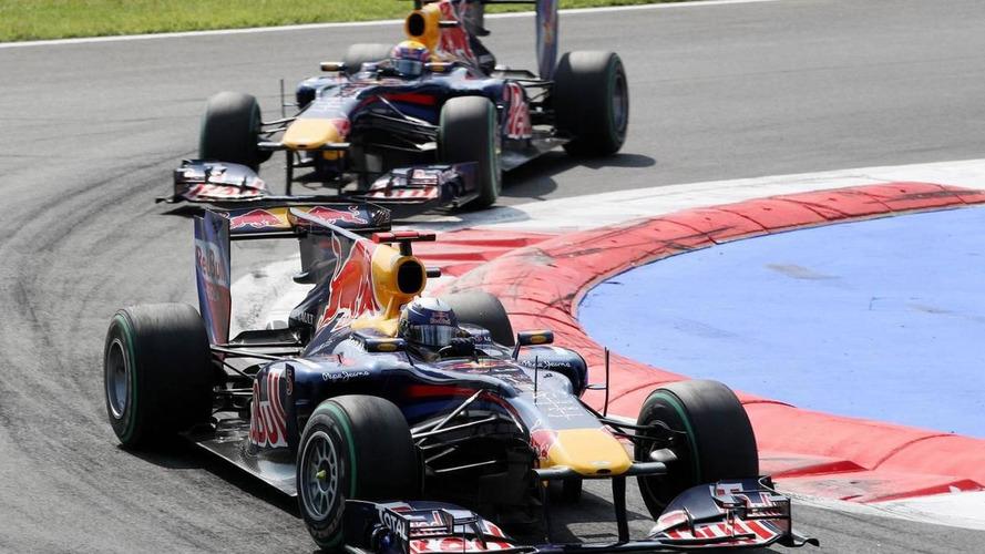 Brake problem slowed Vettel before Webber pass