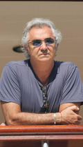 Flavio Briatore, on the yacht Force Blue in the harbour of Monaco, Monaco Grand Prix,  24.05.2006 Monte Carlo