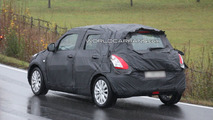 2011 Suzuki Swift spy photos in Germany 24.11.2009