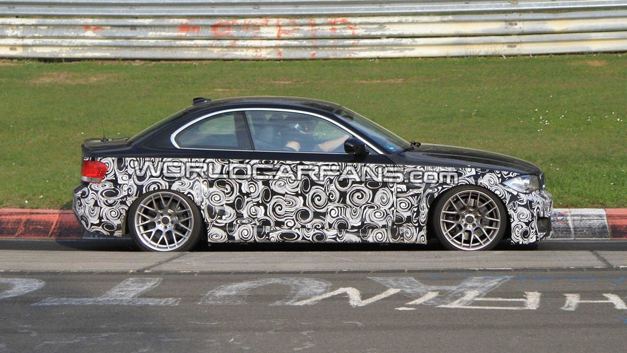 2012 BMW 135is spy photos on Nurburgring