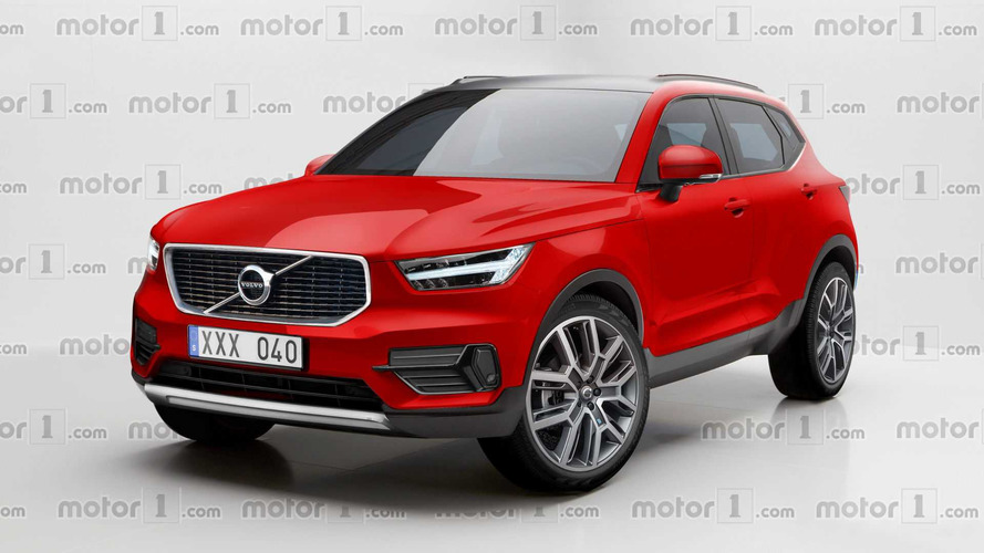 Volvo XC40 Rendered Looking Ready For The Road