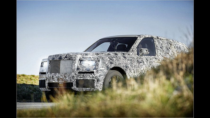Rolls-Royce Cullinan: Erste Bilder