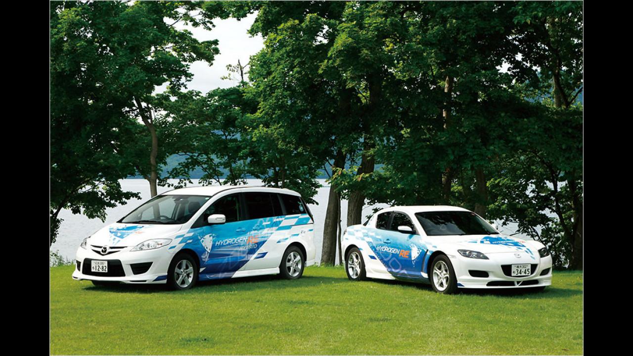 Mazda 5 HRE und RX-8 Hydrogen RE (2004/2005)